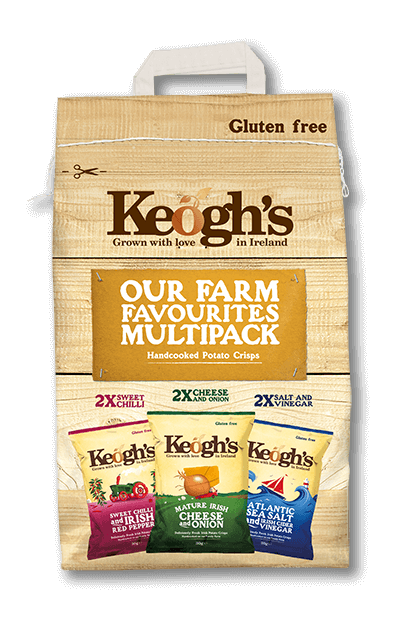 Keogh's Multipack | Irish Crisps | Keogh's